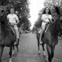 Одесса, Дерибасовская, прогулка на конях