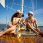 яхта, шампанское, одесса, любовь