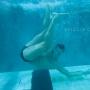 подводная съемка, портрет под водой