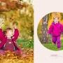 фото съемка детей в парке осенью