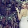 задумчивый портрет невесты