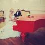 свадебный красный рояль